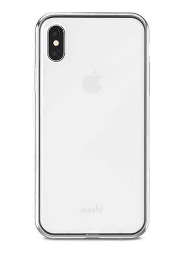 Vitros iPhone X Şeffaf Telefon Kılıfı-Moshi
